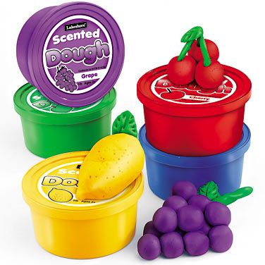 Scented play dough from Lakeshore Learning