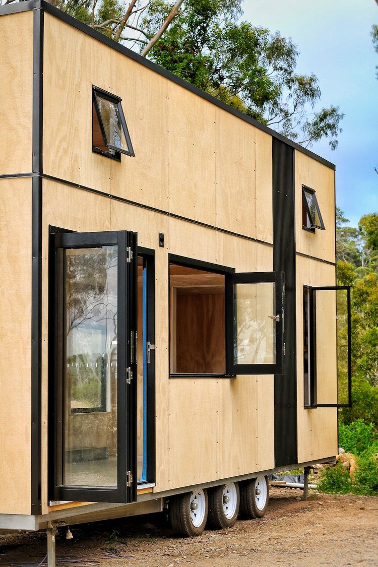 208 Sq Ft Contemporary Tiny Home On Wheels By Sowelo Tiny Houses