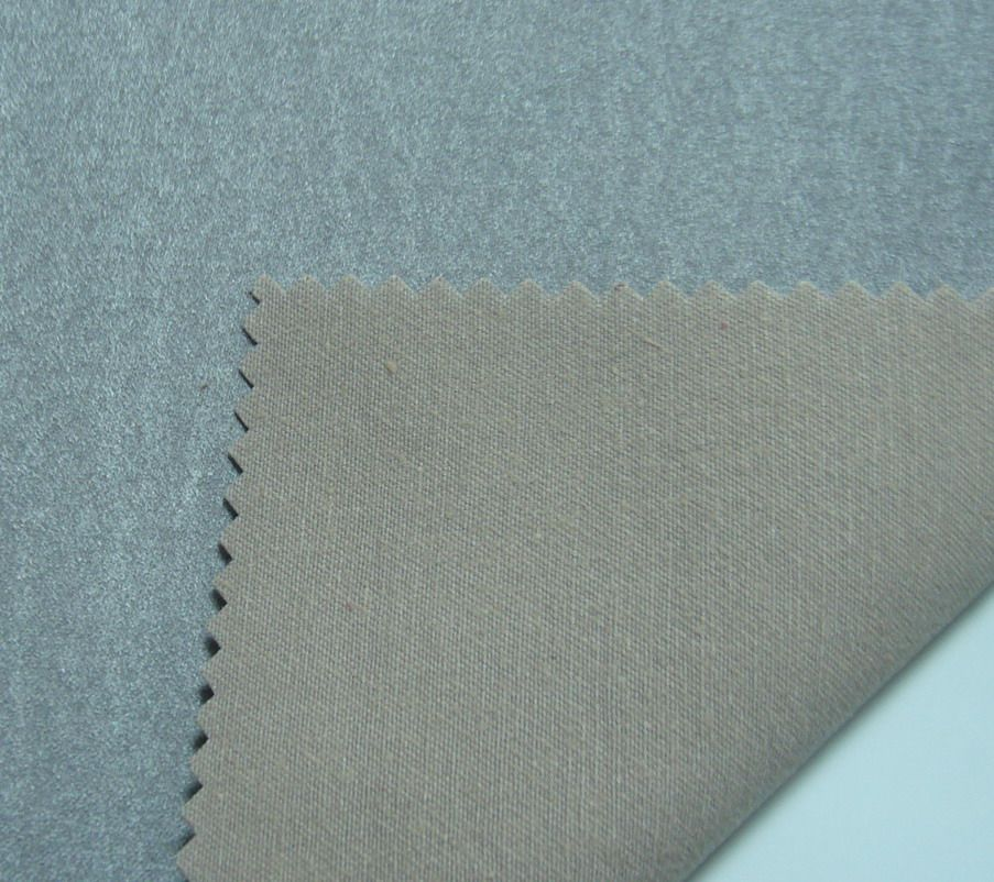100 Cotton Suede Fabric For Garment Sofa Upholstery Suede