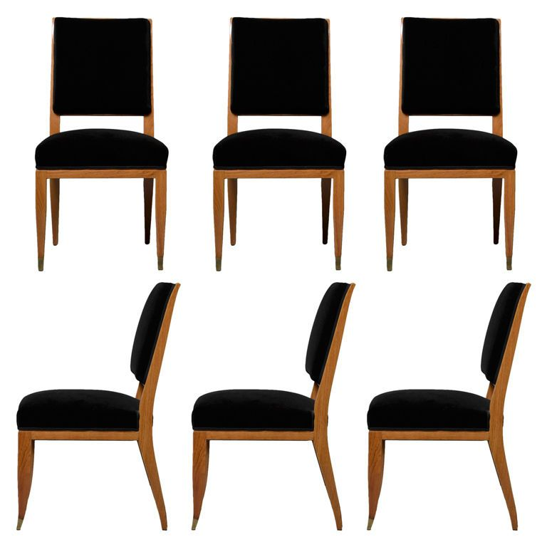 Ordinaire Set Of Six French Art Deco Chairs By Lucien Rollin | From A Unique  Collection Of Antique And Modern Dining Room Chairs At ...