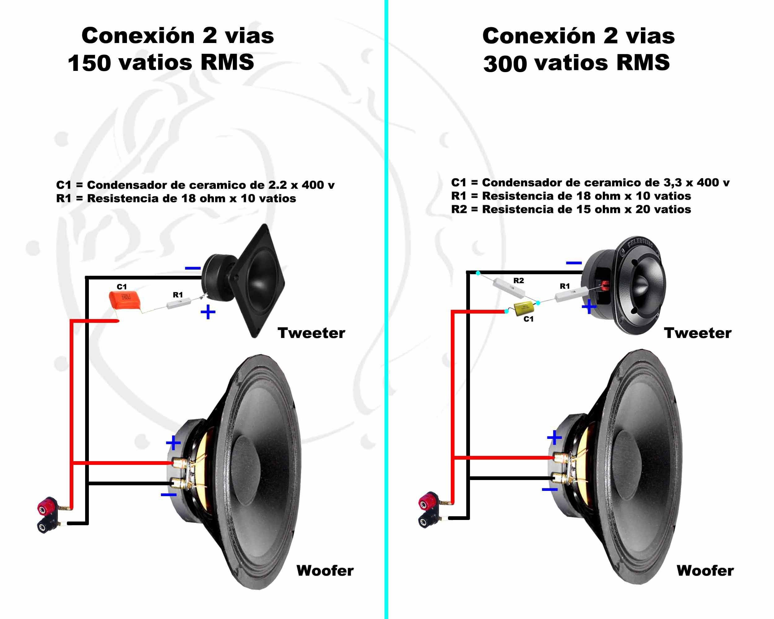 Tweeter Speakers Pinterest Audio Loudspeaker And Diy Subwoofer Tags Circuit Tda2030 Pcb Layout Crossover Pasivo Speaker Box Design Muy Simple Electronics Projects