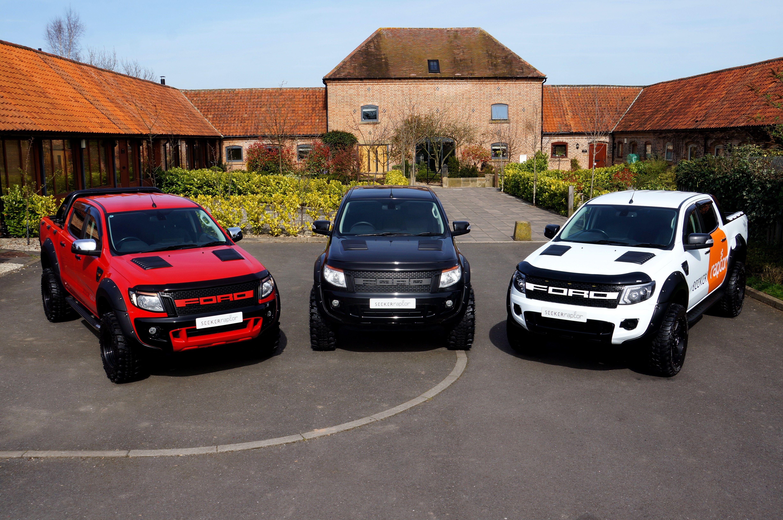 Ford ranger 2 2 seeker raptor editions from seeker styling motorseeker uk