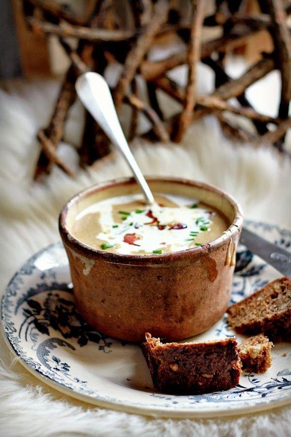 la soupe au pain de seigle danois - les cuisines de garance