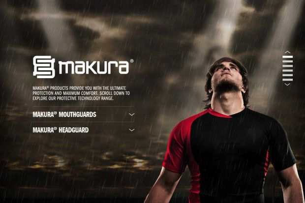 Makura Sport - (Rugby) Protective Technology - Best website, web design inspiration showcase  England-Ireland-France