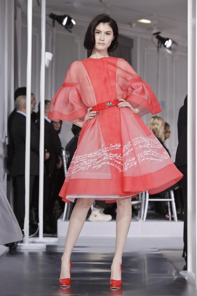 Christian Dior Couture Spring Summer 2012 Paris | collection ...