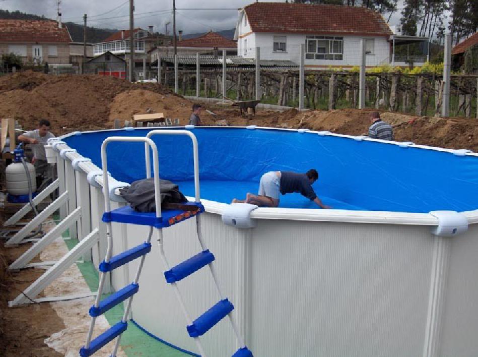 Inbouw zwembad maken google zoeken zwembad pinterest searching - Outdoor decoratie zwembad ...