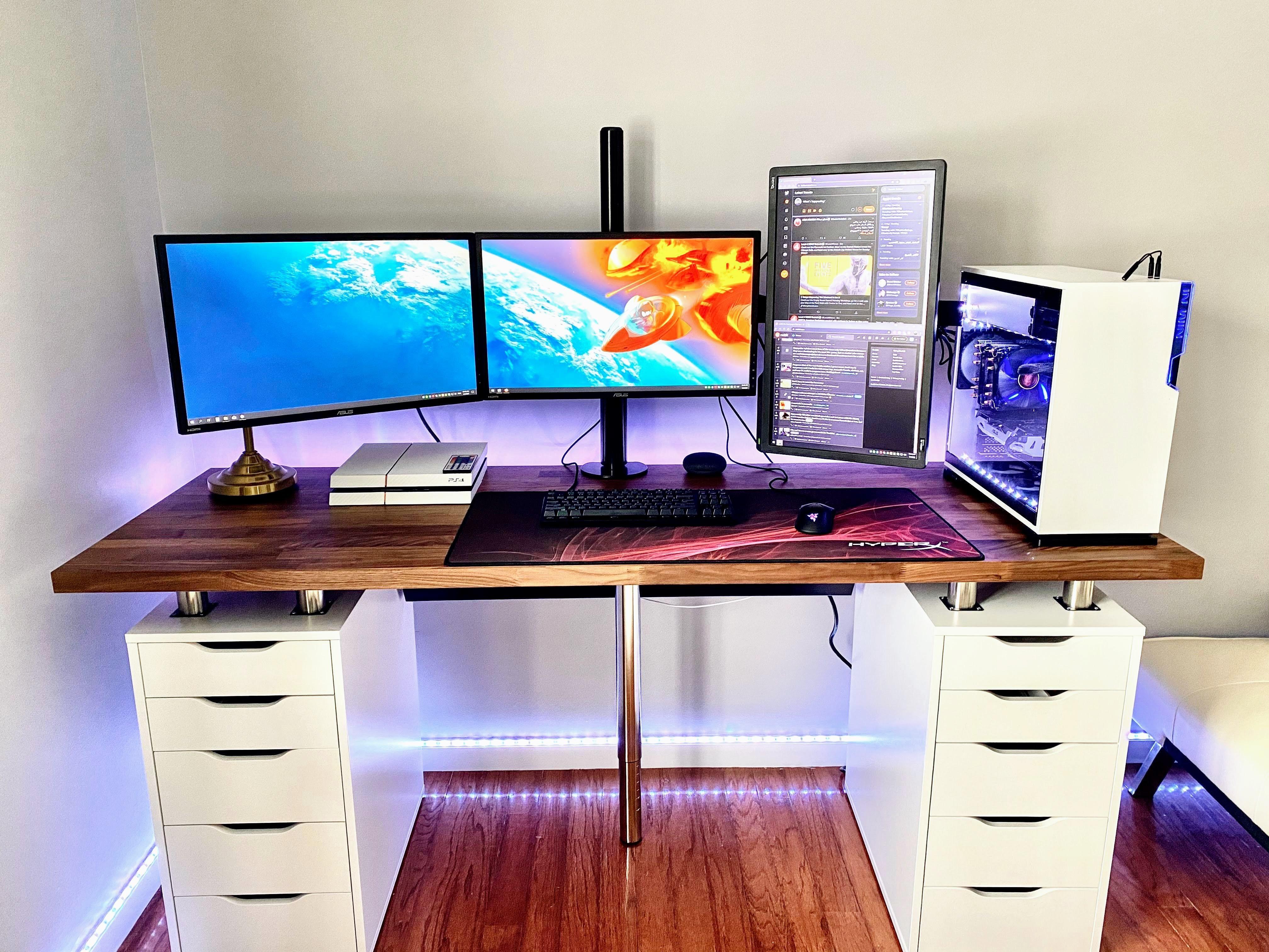 2020 Setup Took Me 8 Hours To Complete I Know Ikea Karlby Desk