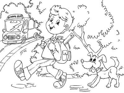 free back to school coloring pages for kids to print enjoy coloring - First Day Of Preschool Coloring Pages