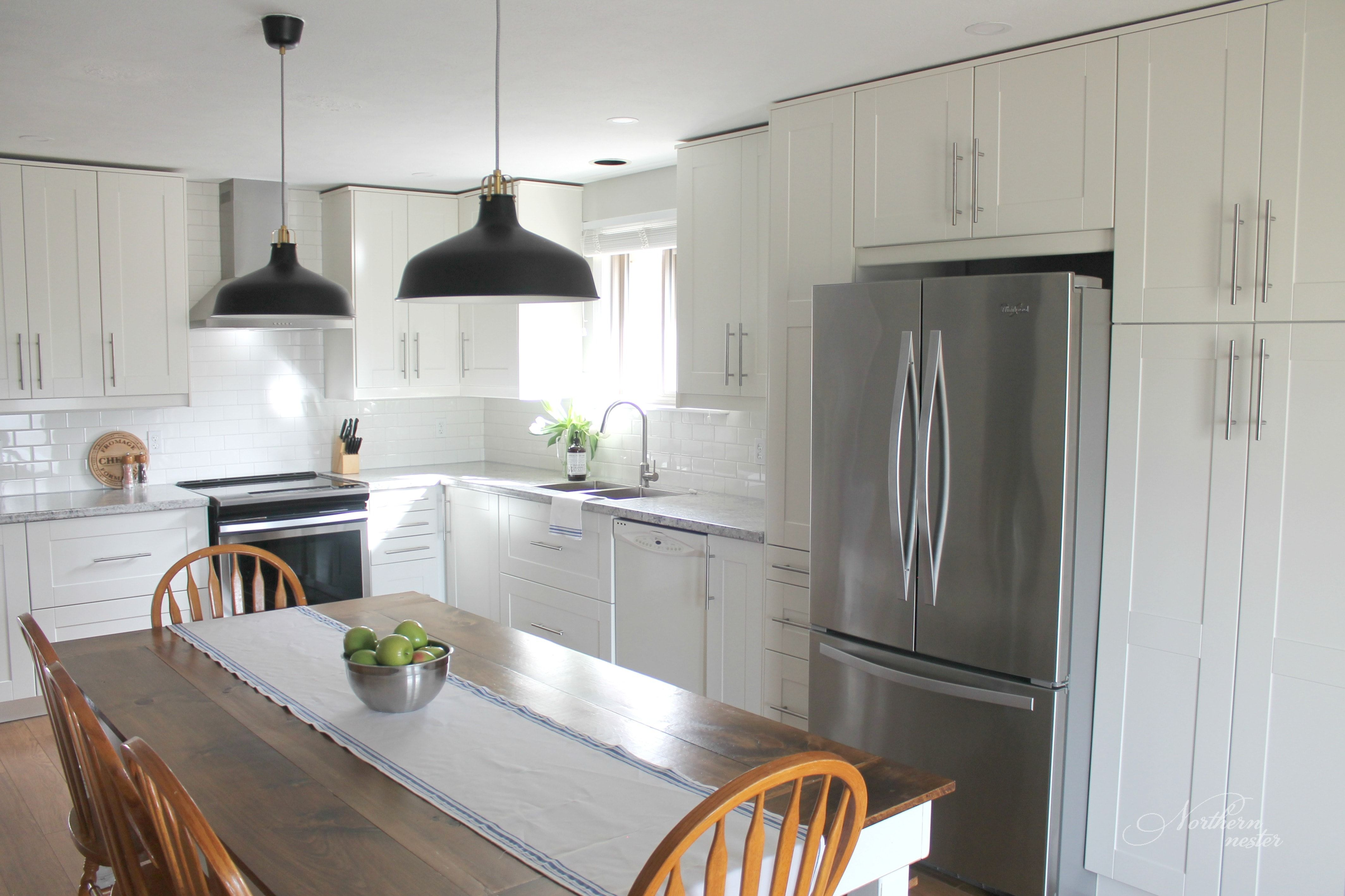 IKEA Kitchen Reno Before & After! Northern Nester