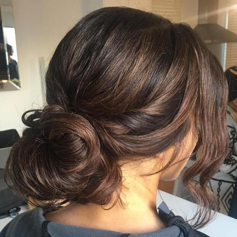 Wedding Hairstyle Messy Bun: 40 Chic Messy Updos For Long Hair