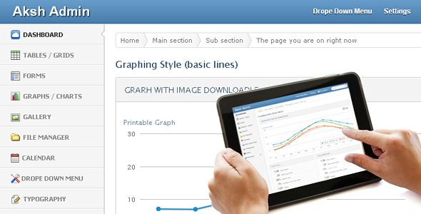 Admin panel template Web design and related Pinterest Admin - graphs and charts templates