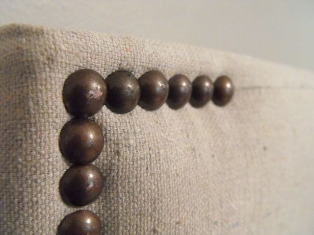 Susie Harris: DIY Headboard day two - used canvas drop cloths from ...