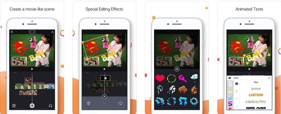التطبيق الرائع Twinkling لتصميم الفيديوهات وإضافة تاثيرات