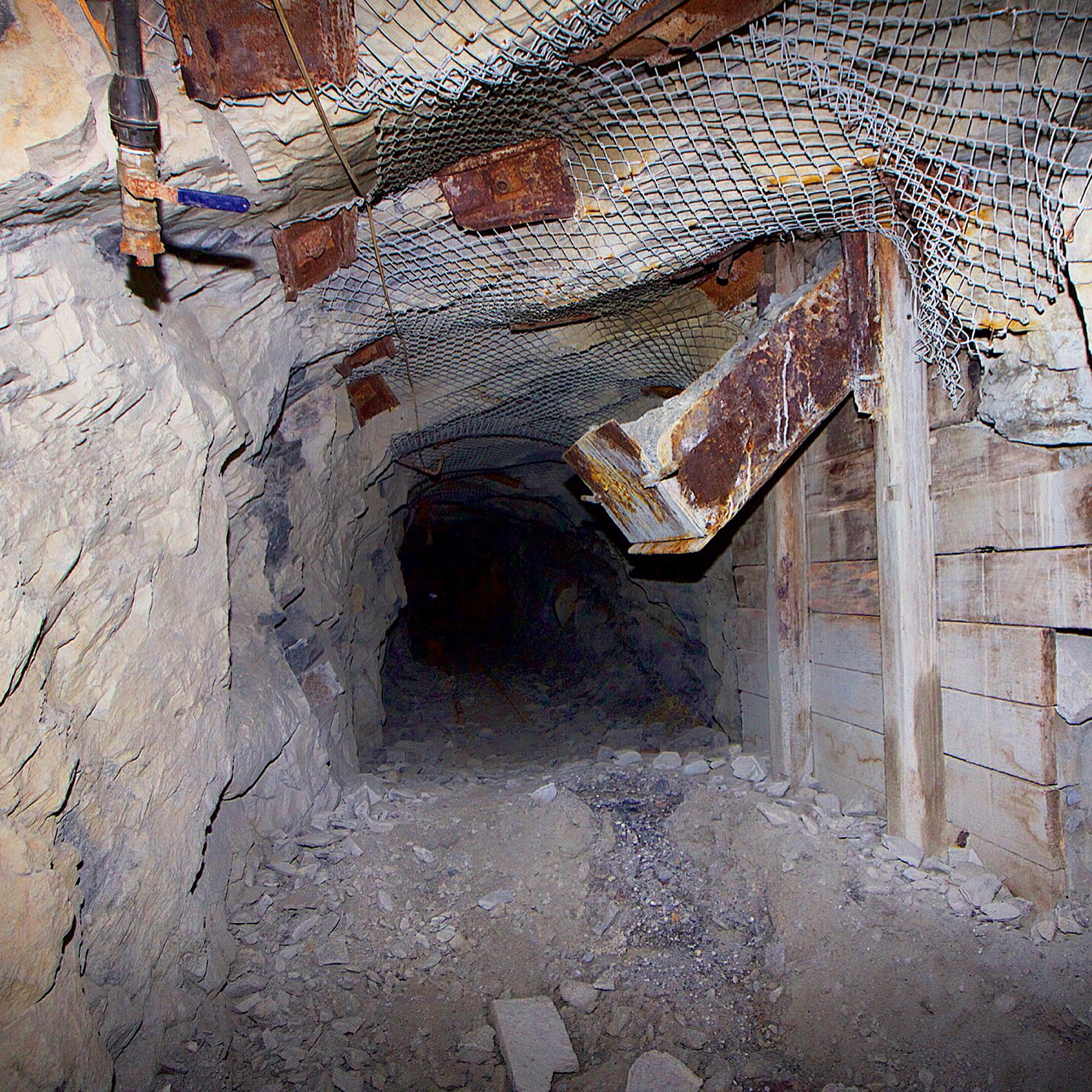 Central Deborah Gold Mine #Bendigo #disused #abandoned #underground