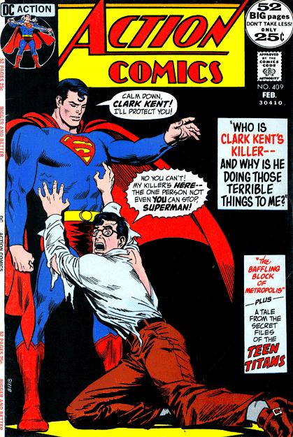 Action Comics 409 Dc Comics Dc Comic Books Comics Comic Book Covers