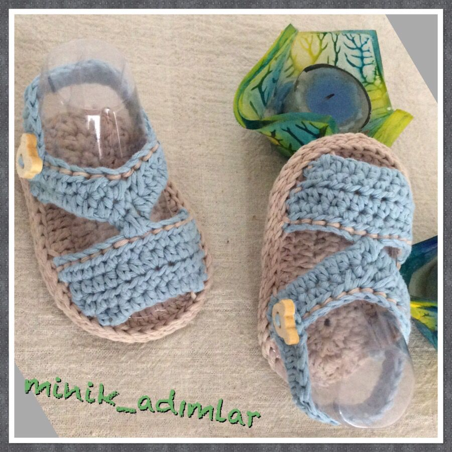 Ideas - Lanas y Ovillos | Crochet baby shoes, slippers | Pinterest ...