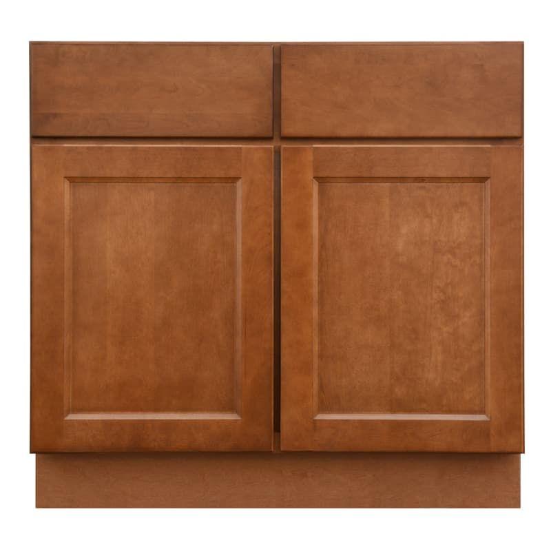 "Sunny Wood ESB36S-A Ellisen 36"" Double Door Sink Base ..."