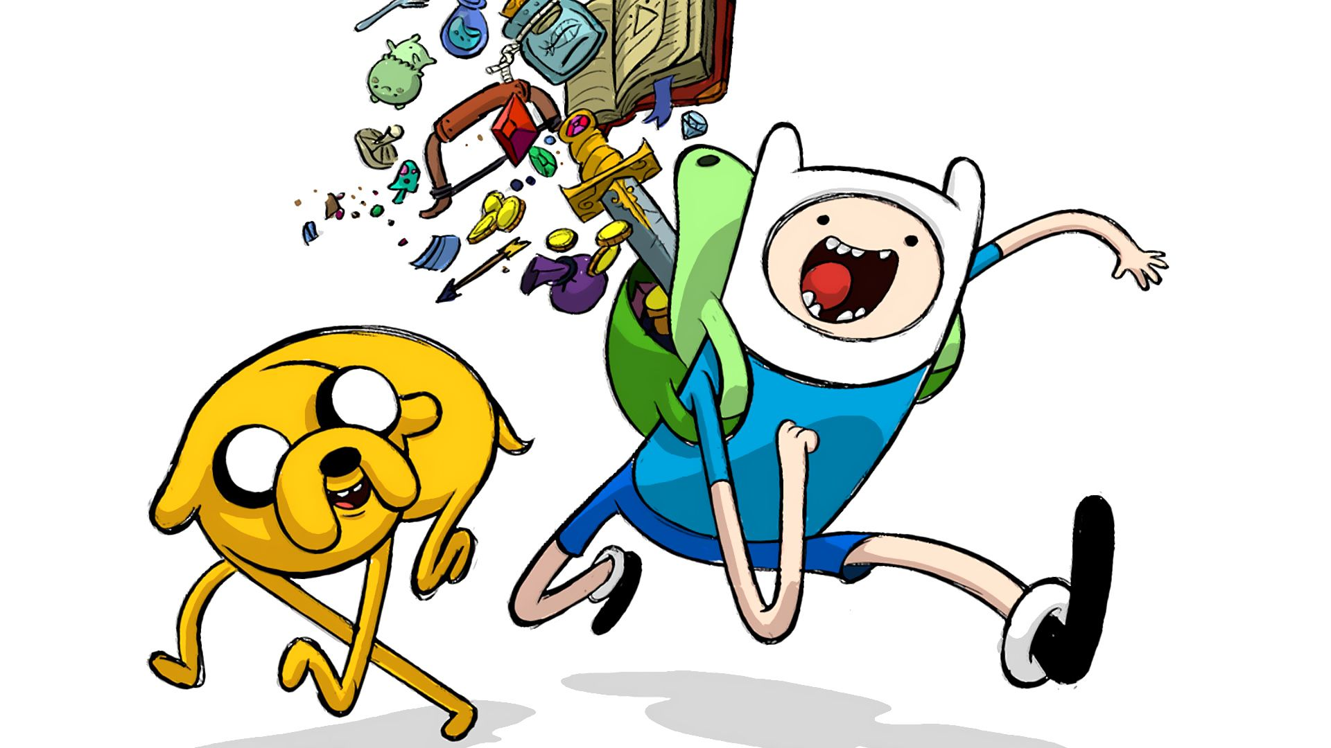 What Time Is It Adventure Time Wallpaper Adventure Time Finn