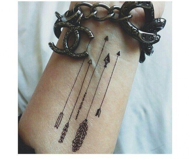 Tatuaż Strzała 40 Najlepszych Wzorów Na Rękę Strona 11