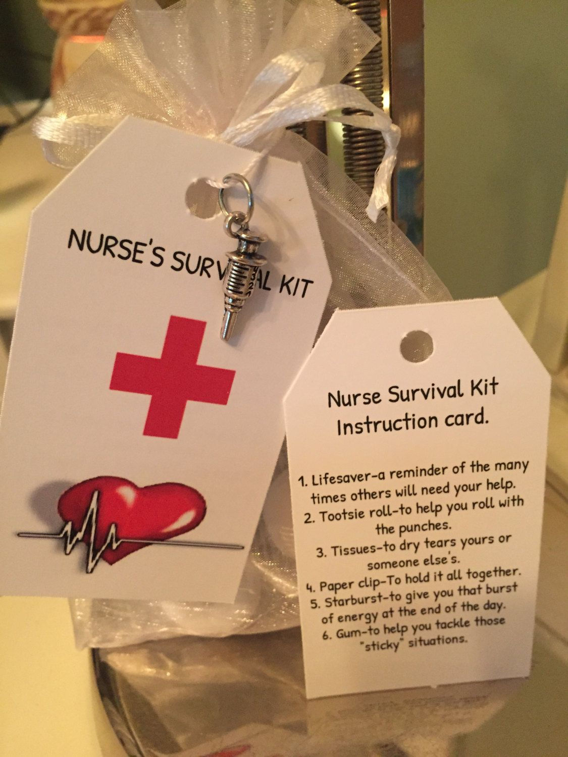 Nurse Survival Kit Contact Me At Favor4loveboutique Gmail Com If Interested Nurses Week Gifts Nurse Appreciation Gifts Nurse Crafts