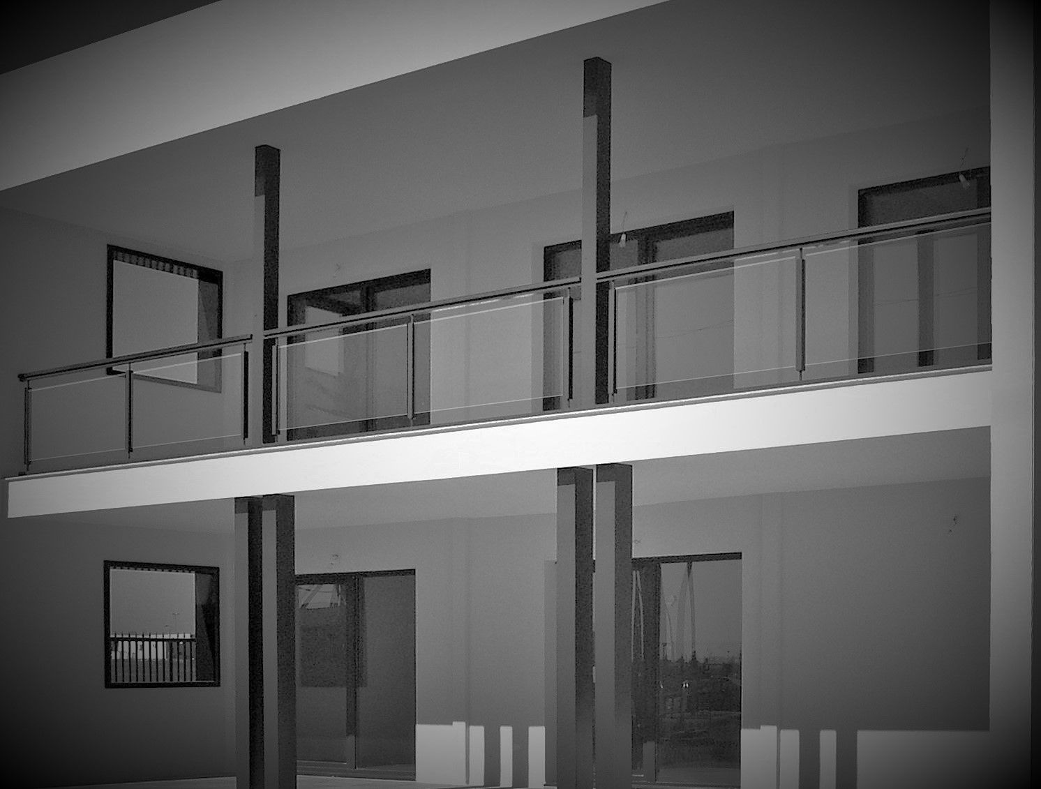 Porche y terraza casa - Viviendas de acero ...