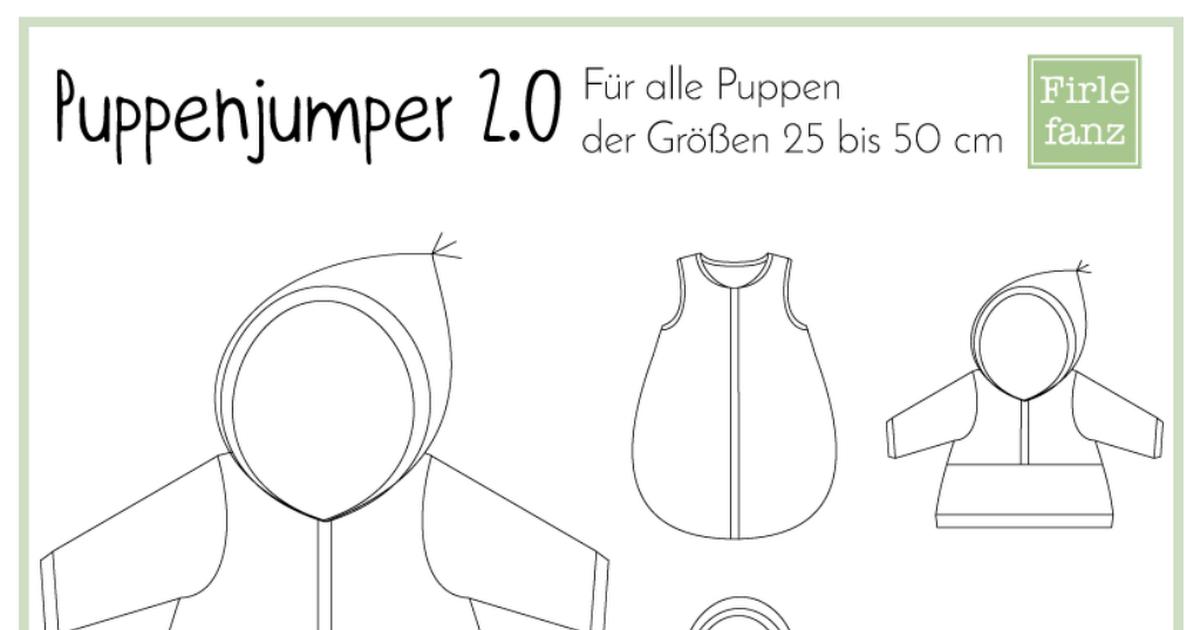 Puppenjumper2.0-Anleitung.pdf   Nähen   Pinterest   Anleitungen ...