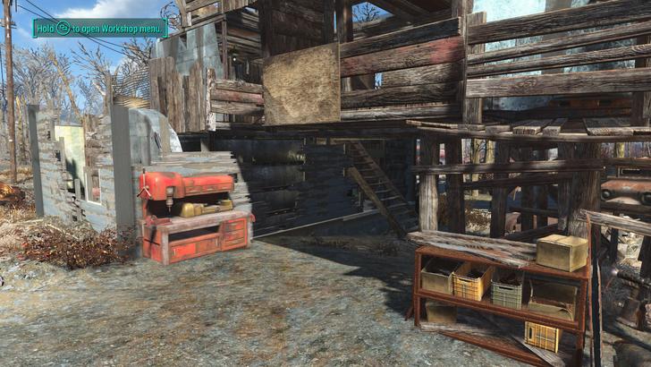 County Crossing Idea Fallout Wasteland Post Apocalypse