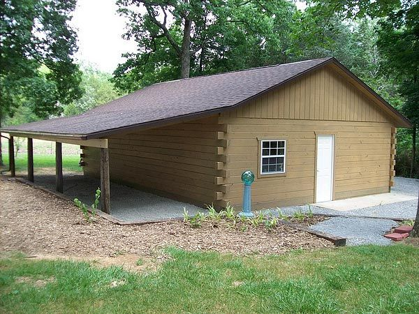How to build a small log cabin using only 2x4 39 s total Small cottages to build
