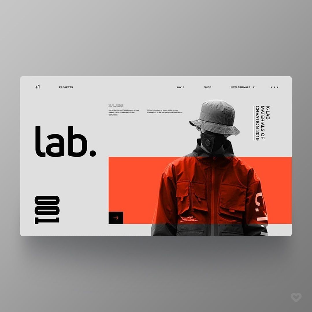 "Web Design Inspiration (UI/UX) on Instagram: ""by Nathan Bolger @nb_create Follow us @welovewebdesign - Link: https://www.instagram.com/p/BvaQrDKl6cZ/ - More daily inspiration?…"""