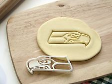 Seattle Seahawks Football Logo Cookie Cutter - Made from Eco Friendly Material