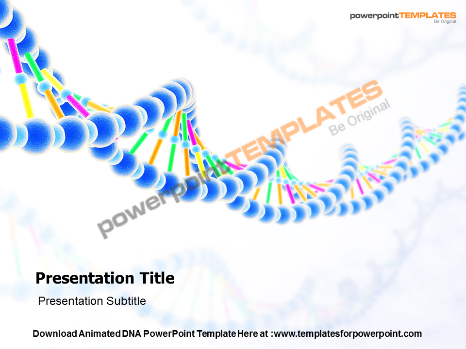 Download fully editable Animated DNA PowerPoint Templates and ...