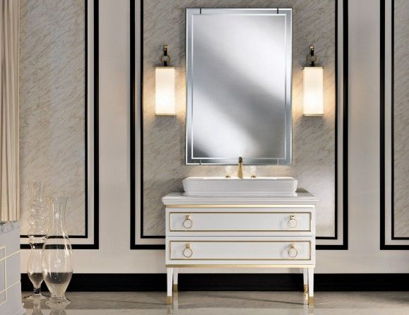 Lutetia L6 Traditional Italian Bathroom Furniture In Lacquer