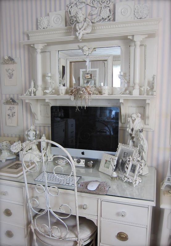 Shabby Sheek Office Perfect Shabby Chic Home Office I Now