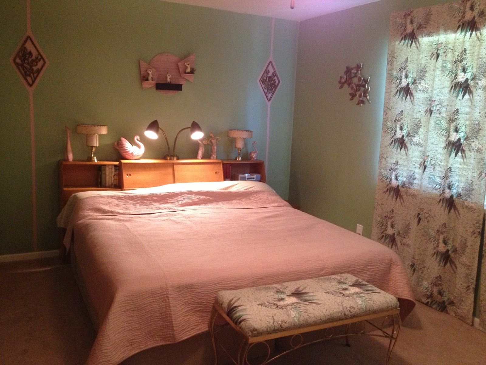 . Rockabilly bedroom   Bedroom Designs in 2019   Retro bedrooms
