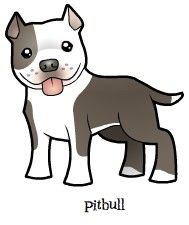 Pitbull Dibujos De Perros Dibujos De Pitbull Perros En Caricatura