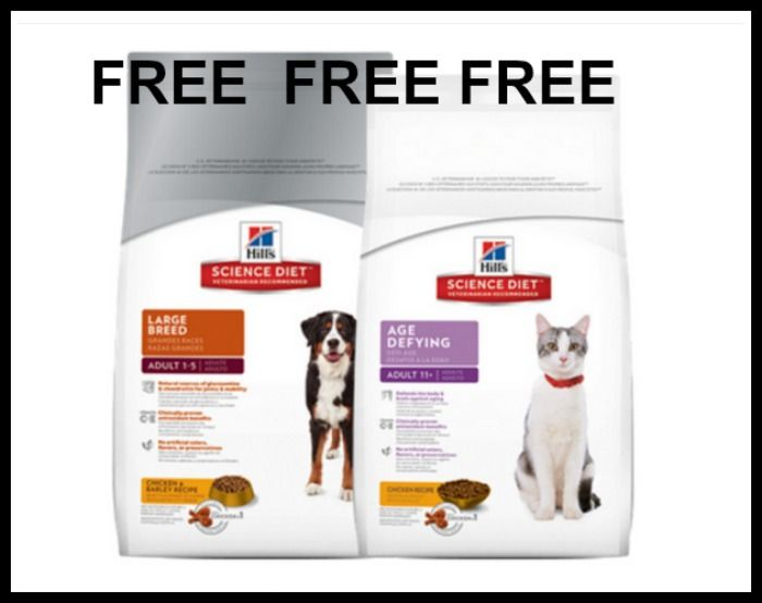 Free Bag Of Hill S Science Diet Dog Or Cat Food At Petsmart With Images Science Diet Hills Science Diet Cat Food