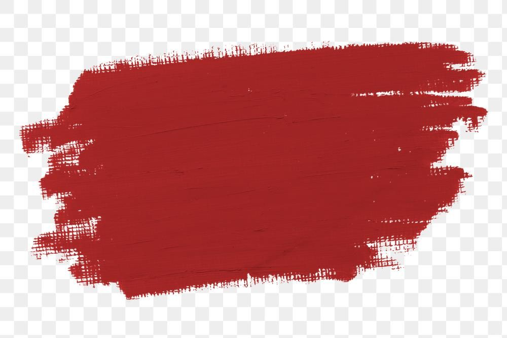 Matte Cherry Red Paint Brush Stroke Free Image By Rawpixel Com Karn Paint Brushes Red Paint Brush Stroke Png