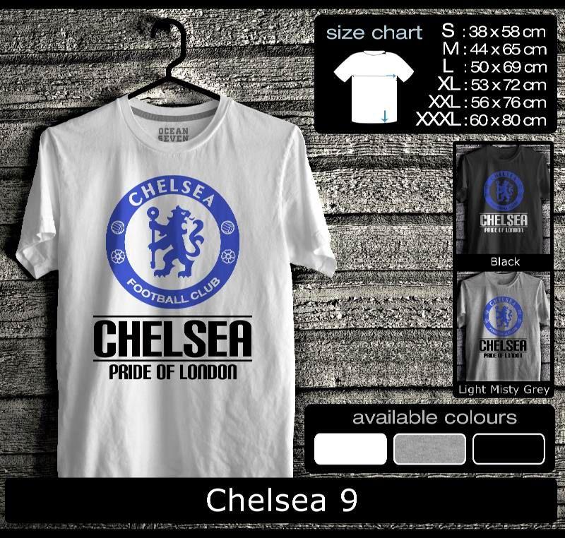 Kaos Chelsea Football Club Kaos Fans Chelsea True Blue 2 Ourkios Com