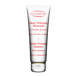 Gentle Foaming Cleanser with Cottonseed for Normal/ Combination Skin