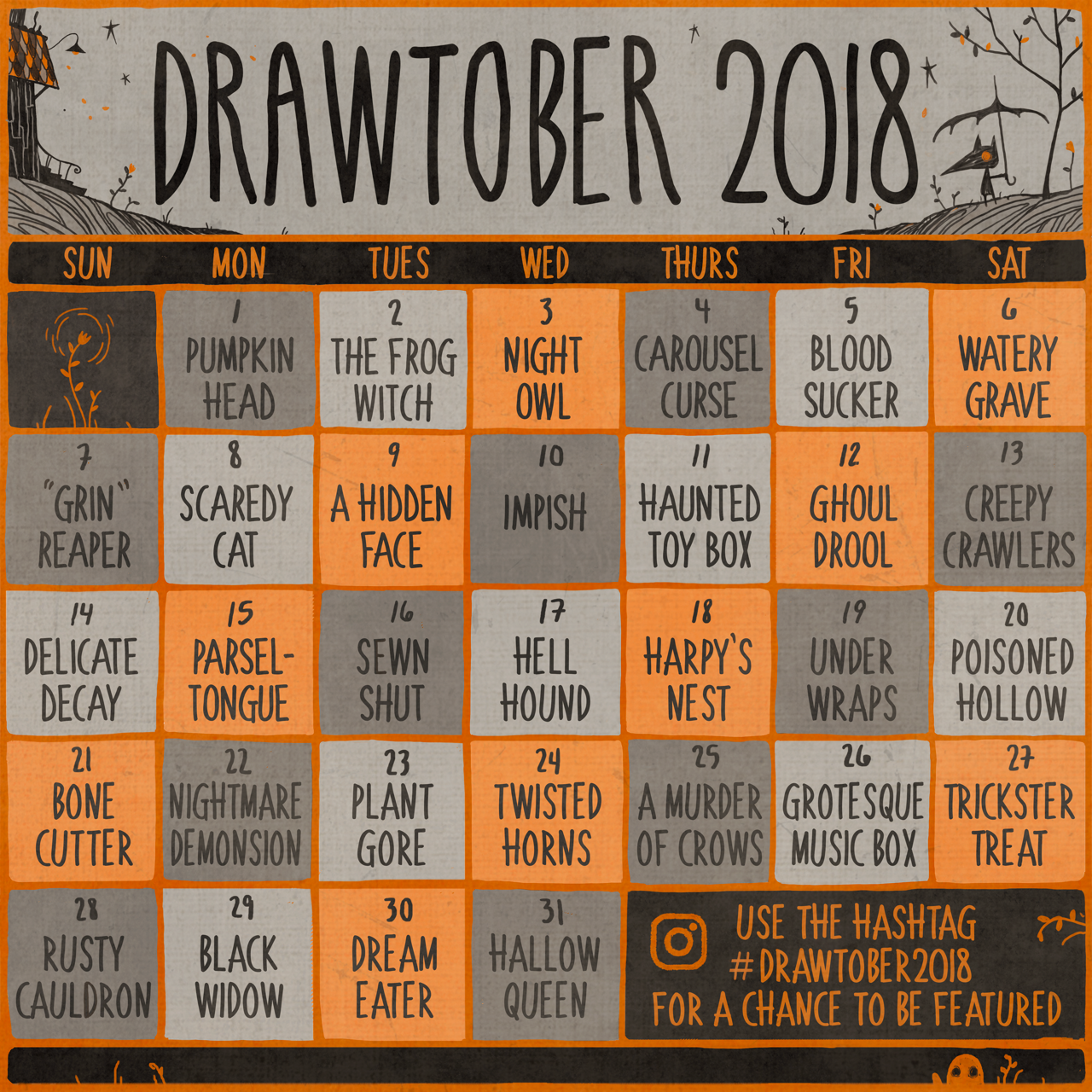 Pin By Preston S On Drawtober 2k18 With Images Drawing