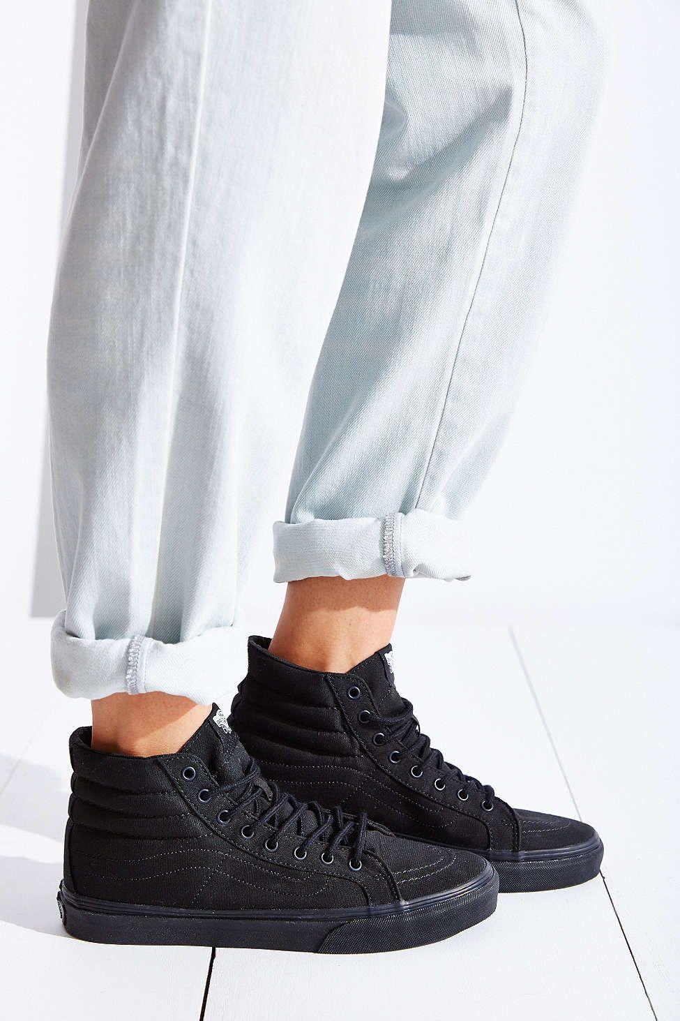 aa4e0b2e0 Vans Sk8-Hi Slim Sneaker Calzas