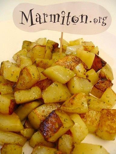 pommes de terre sautées à l'ail et au persil   recette   blog