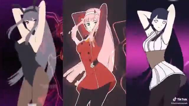 hot anime girls - jump dance - KAIZ Remix