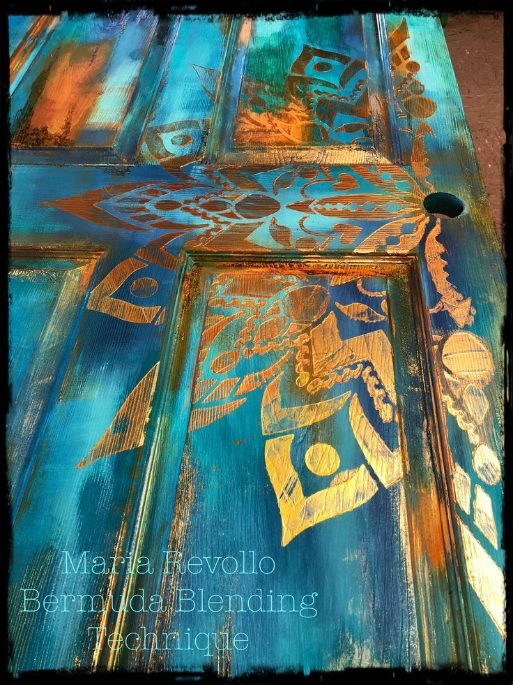 Photo of Bermuda Blending Technique 2.0 Created by Maria A Revollo #Paintedfurniture – Dekoration