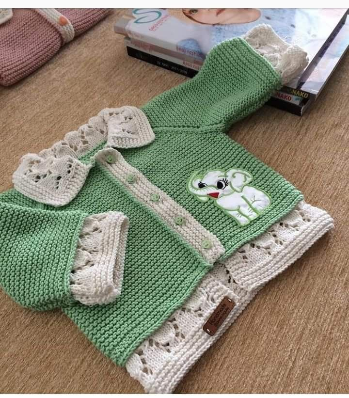 This Pin was discovered by Ays   Vaikams   Pinterest   Baby knitting ...