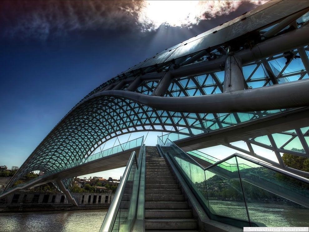 The most unusual bridges in the world puentes for Bridge design