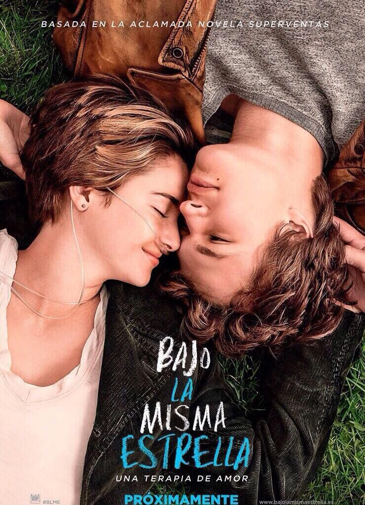 La Mejor Pelicula De Amor Que He Visto Ultimamente Bajolamismaestrella The Fault In Our Stars Good Movies Film Movie