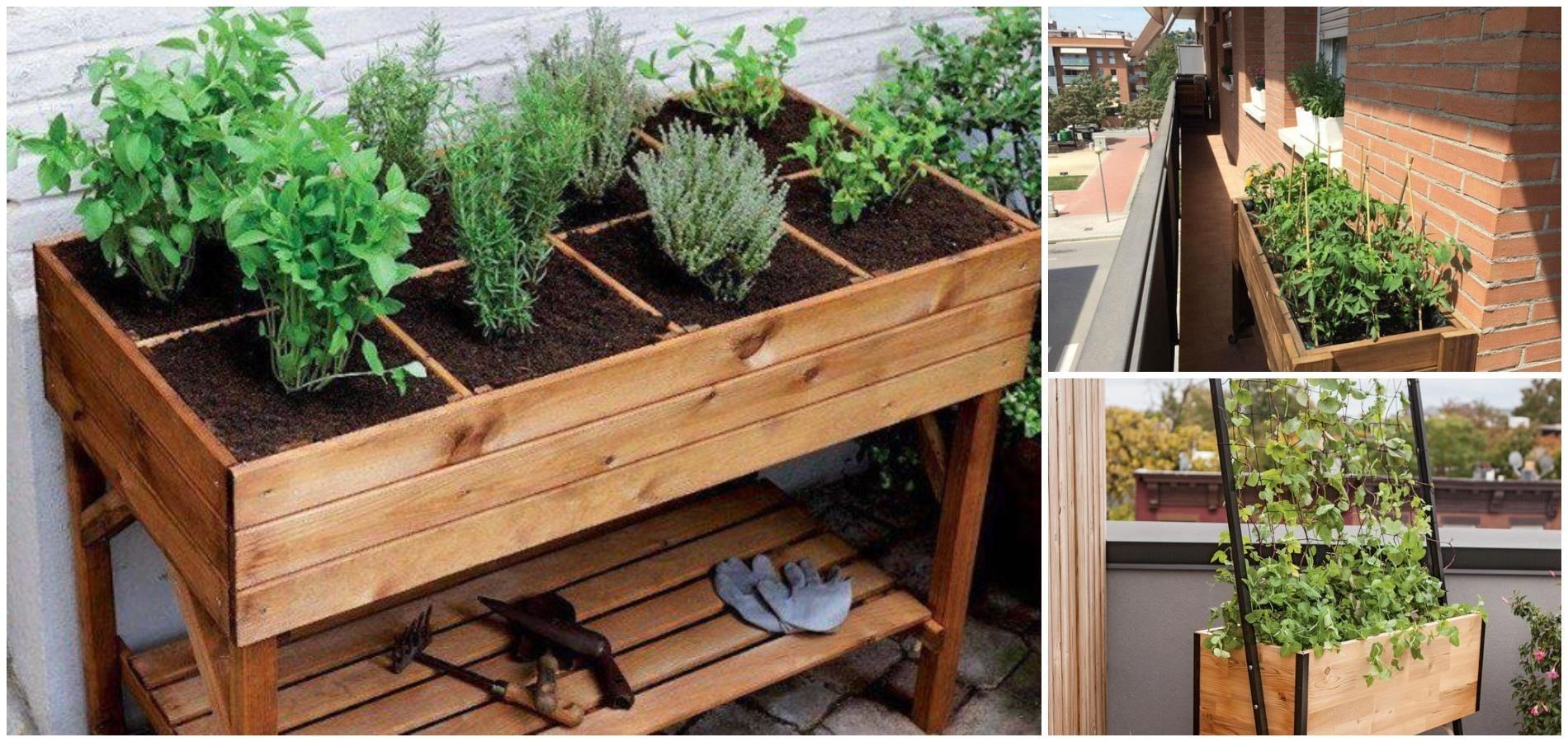 Como Elegir Una Mesa De Cultivo Para Balcon O Terraza En 2020 Mesa De Cultivo Cultivo De Arboles Frutales Jardineria
