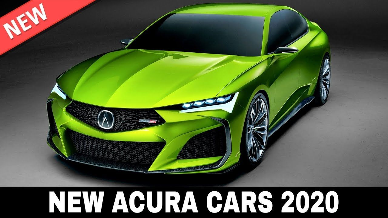 7 New Acura Cars Presented In The Upmarket Model Lineup Of 2020 Acura Cars