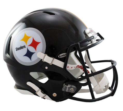 Pittsburgh Steelers Revolution Speed Authentic Helmet Pittsburgh Steelers Afc North Nfl Collectibles Casco